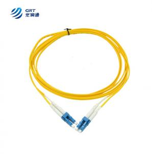 China FTTH catv application 10G 1310nm 3m Optic Fiber patch cord on sale