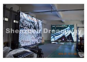 China 5 mm Indoor Full Color LED Display with SMD2121 Black LED HDMI DVI Input on sale