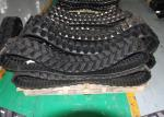 Construction Machinery Track Loader Rubber Tracks 300 * 52.5 * 80 For Case Komatsu