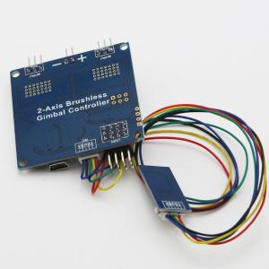 China Universal 2-axis 2-axle Brushless Gimbal Controller Open Source V049 Martinez on sale
