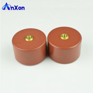 China 40KV 1400PF Vacuum Circuit Breaker Capacitor 40KV 142 High Voltage Ceramic Capacitor on sale