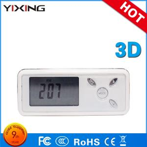China Activity Trackers 3d G Sensor  Pedometer Calorie LCD Walking Distance Pedometer on sale