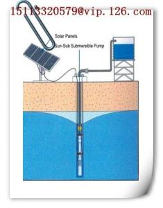 China Submersible DC24V Solar Water Pump (3CMB/hour) on sale