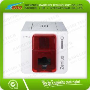 China Impressoras da etiqueta da impressora de transferência térmica de Evolis Zenius on sale