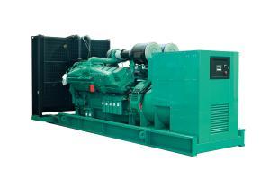 China Super Silent Cummins Generator Set 1120kw 1400kva 1500rpm Speed on sale