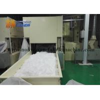 Sanitary Diapers Non Woven Fabric Making Machine White Color Heavy Duty