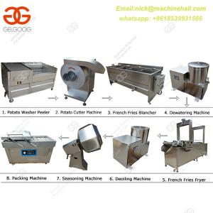China Potato Chips Making Line for Sale|Potato Chips processing  Line Suppliers|Easy Operate Potato Chips Making Line on sale