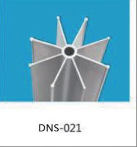 China Mill Finished Aluminium Extrusion Profiles , Star Shaped Fin Tube For Carburetor? on sale