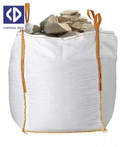 China Anti Static Big Delivery Bags 500 Kg Big Bag Sack With Reinforcement White Color wholesale