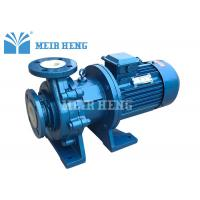 PFA Lined Centrifugal Magnetic Chemical Pump Sealless For Chemical