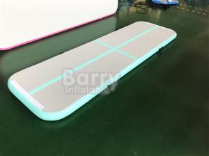 China Home Air Track Tumbling Gymnastics Mats / Customized PVC Sport Air Tumbling Track on sale