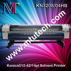 China Konica Series Solvent Printer with KM512 print head 1440dpi 3.2m Width on sale