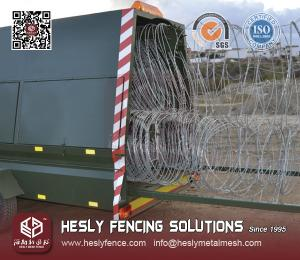Razor Wire Rapid Deployment Barrier System for sale – Mobile ...