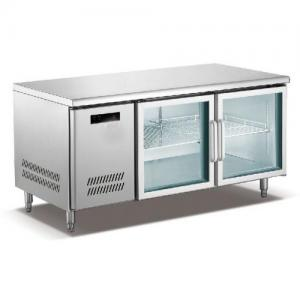 ... Quality Large Under Counter Freezer With Front Glass Door / Smaller Fender for sale ...  sc 1 st  Commercial Display Freezer - Everychina & Large Under Counter Freezer With Front Glass Door / Smaller Fender ...