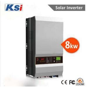 China 8kw 10kw 48v hybrid solar inverter with MPPT charger for solar power system for home and government on sale