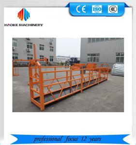 Quality Chinese  ZLP800 spraying electric suspended platform for building facade work for sale