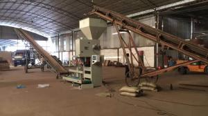 China 10-50kg Wood Pellet Bagger, Feed Pellet Bagging Machine 3000*1500*2600mm on sale