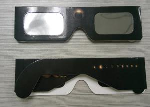 China Eclipse Glasses for Watching Sun Spot - Safe Solar Cardboard Eclipse Shades on sale
