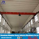 Wireless Radio Remote Control Single Girder Overhead Crane for Materials Handling