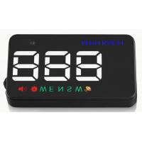 China Ouchuangbo HUD 3.5 inch Car Head Up Display Windshield Projector Speedometer Overspeed - GPS Satellite 2 Dispaly Mode on sale