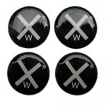 Customized Epoxy Resin Domed Clear Round Epoxy Gel stickers labels tags