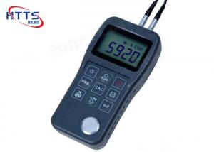 China Monitoring Metal Plastic Digital Ultrasonic Thickness Gauge Portable Design supplier