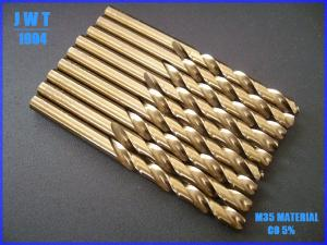 China HSS Fully Ground Twist Drill Bits for Drilling with ISO9001 on sale