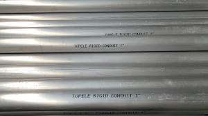 China 1/2- 4 IMC Conduit And Fittings 3.05 Meter Topele Aluminum Rigid Conduit on sale