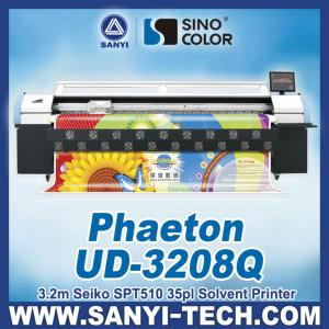 China Digital Printing Machine with Seiko SPT 510-35PL Head, Phaeton UD-3208Q on sale