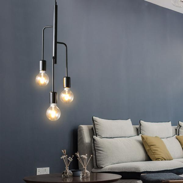 Retro Pendant Lighting Fixtures For Sitting Room Bedroom Hanging