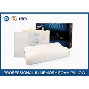 China Oreiller respirable de mousse de latex de nature de massage de vague de découpe, oreiller d'International de latex on sale