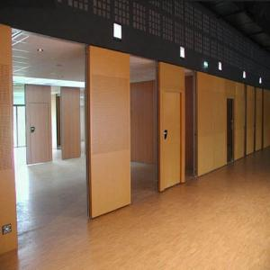 China OEM Movable Room Partition Sliding Door Decorative Partition Wall For Art Gallery on sale