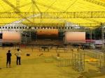 Braguero de aluminio de la etapa del concierto grande al por mayor