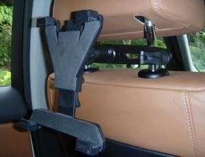China adjustable car Back Seat Headrest Mount For iPad/iPad Mini/iPhone/Smart Phone/Tablet/ on sale
