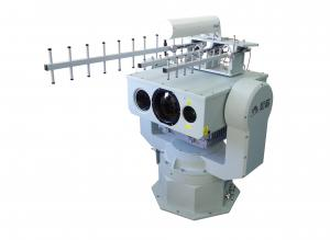China Border Surveillance Thermal Imaging Security Systems For Long Range Radar Linkage on sale