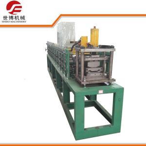 China Spandrel Steel Profile Metal Stud And Track Roll Forming Machine For Suspended Ceiling on sale