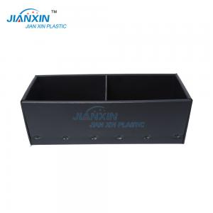 China Black Colour Anti-static PP Plastic Corrugated Boxes /Light Weight on sale