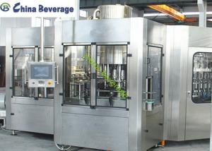 China Rinsing Capping Drinking Water Filling Machine Plastic Bottle High Efficiency on sale