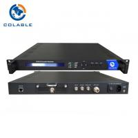 Digital Tv Encoder Modulator , SD HD SDI To DVB S2 Encodulator COL5011U
