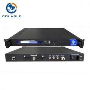 China Full HD SDI To DVB S2 Encoder Modulator With QPSK 8PSK Constellation COL5011U on sale