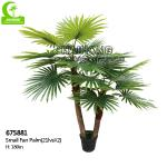 All Season Artificial Palm Plants Outdoor , 6ft Faux Tree For Decoration