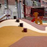 Bright Color EPDM Granules Rubber Playground Mats