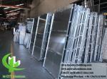 Professional solid aluminum panel Powder Coated Aluminium Cladding Panels 1200x4000mm Max Size