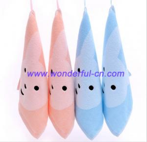 China Discount luxury cotton personalised hand towels in bulk on sale