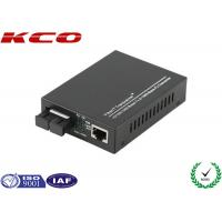 Ethernet Fiber Media Converter , Optical Fiber Media Converter 1000Mbps SC Port