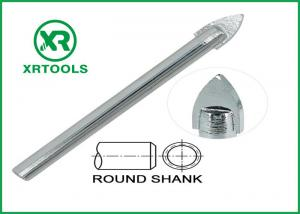 China Single Carbide Drill Bits Chrome Plated Round Shank With ISO 9000 Approval on sale