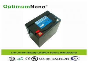 China Safe Lithium Motorcycle Battery , Deep Cycle High Performance Motorcycle Battery on sale