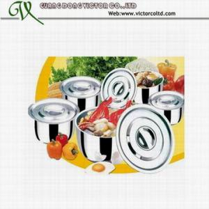 China 10 PCS stainless steel stock pot set on sale