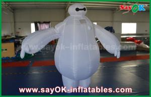 China Inflatable Baymax Mascot Costume / Inflatable Robot Baymax for kids amusement park on sale