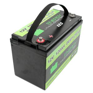 China Custom EV marine hybrid car lifepo4 battery lithium battery 12v 120ah on sale